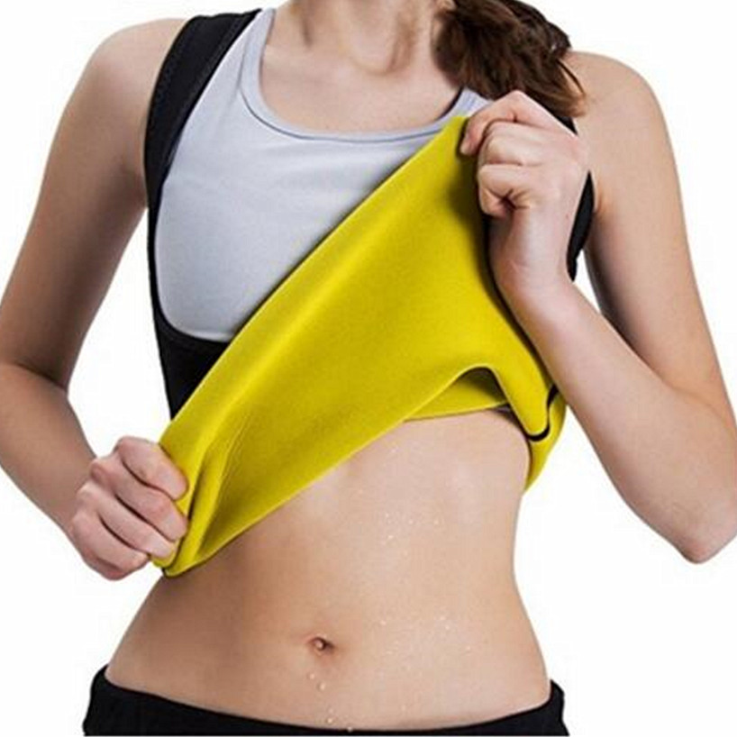 c1e4251f49 Women s Waist Trainer Thermal Slim Vest Hot body Shapers Compression Slimming  Shirt Weight Loss Shaper Slimming Pants Shapewear on Aliexpress.com