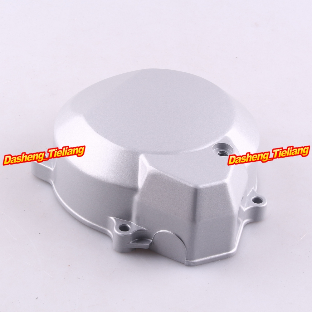 Engine Stator Crank Case Generator Cover Crankcase For Yamaha FZ400 All Years CNC Al Silver Color lifan 125 125cc engine left crankcase stator rotor casing case dirt bike atv