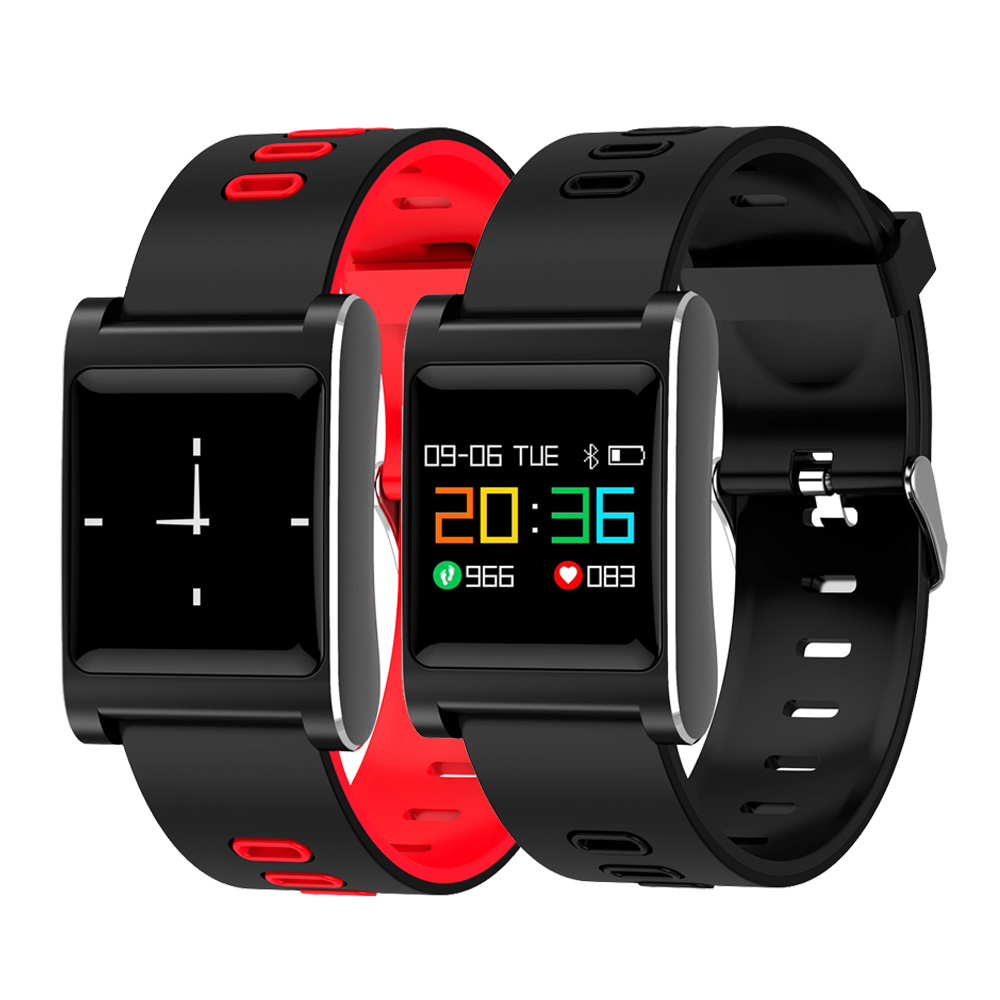 K88 Plus Smart Armband Blutdruck Armband Farbe Display IP68 Wasserdichte Fitness Tracker Band For Android IOS