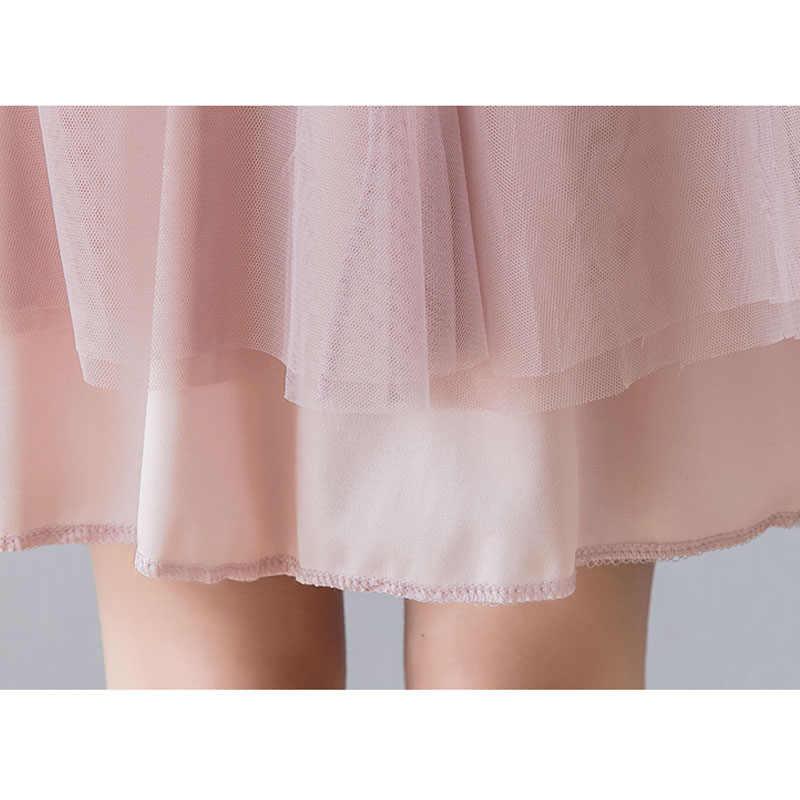 ฤดูร้อนกระโปรงผ้าพันคอสำหรับเสื้อผ้าสตรีตั้งครรภ์ท้องกระโปรงชุดลูกสูงเอว Tutu Pregnancy Bubble กระโปรง