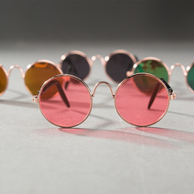 2 Pcs Fashion Style Cat Sunglasses Summer Dogs Cats Glasses Cat Grooming Eye-Wear Protection Puppy Cats Glasses Pet Accessories