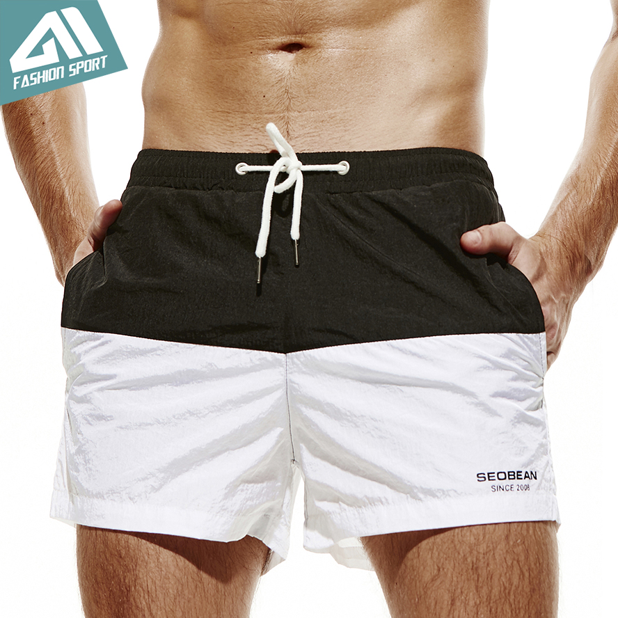 Competent Aimpact Patchwork Men's Board Shorts Fast Dry 2018 Summer Holiday Beach Surf Swimming Trunks Sport Running Hybird Shorts Am2047