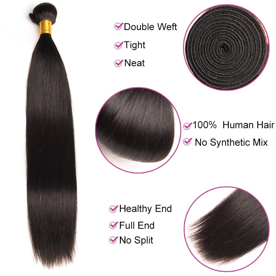 чудо-девочка перуанский прямые волосы человеческие волосы