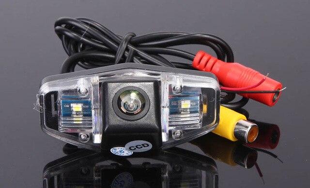 CCD Car Reverse Camera for Honda Accord Civic Europe Pilot Odyssey Acura TSX Backup Parking Kit NightVision Free Shipping