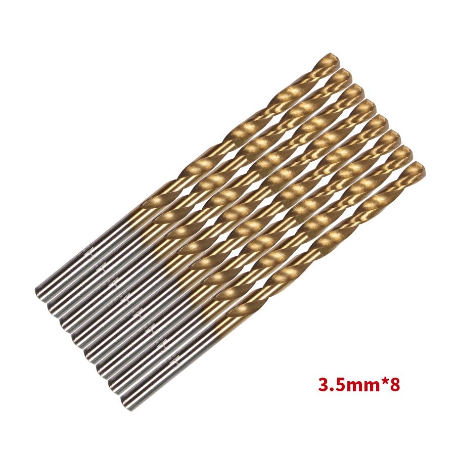 99 db / Set fúró- és fűrészkészlet HSS acél titán bevonatú - Fúrófej - Fénykép 3