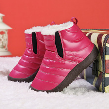 SKHEK Winter Rubber Children Boots New 2019 Fashion Shoes For Girls Boy Sneakers Sapato Infantil Kids