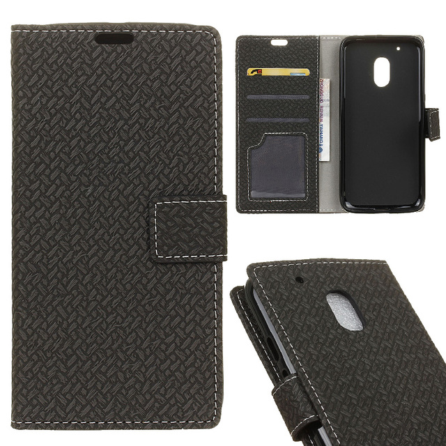 low priced f9ef8 96aa5 US $4.99 |Original Card Holder Wallet For Motorola Moto G4 Play Case Luxury  Cover TPU For Moto G 4 Play Flip Capa Back Cover Leather Case-in Wallet ...