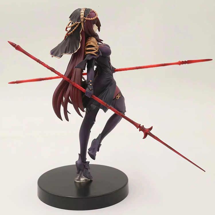 Game anime figura Nova Fate/Grande Ordem figura de ação Arma espada furyu banpresto Destino FGO Scathach rodízio sexy girl figura
