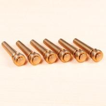 QiCai Brass Pure Copper Guitar Bridge Pin, Sell by 1 Pin