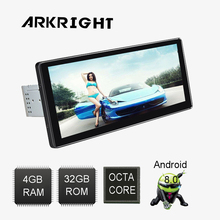 "Newest 10.25"" 1 Din 4GB Ram 32GB Flash Android 8.0 PX5 Octa Core Head Unit Audio Stereo car Radio Universal Multimedia Player"