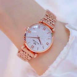 Новый Лидер продаж римские цифровые часы со стразами высокого класса цепи циферблат на заказ сплошной стальной ремень женские часы Мода и