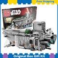 845 шт. Бела 05003 Новый Star Wars Первый Заказ Transporter Строительные Наборы Совместимы С Lego