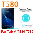 T580 9 9н 2.5D Взрывозащищенный Закаленное Стекло Для Samsung Galaxy Tab A 10.1 (2016) T580 T585 Пленка Защитная Крышка