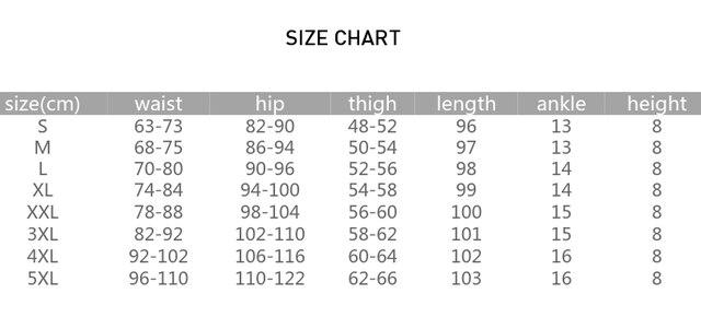 Leggings Pants 6XL Trousers Elastic Waist Pencil Pants Plus Women High Quality Thigh Trimmer Lady High Waist Daily Wear 400g 5