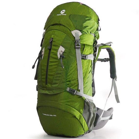 Maleroads bolsa de deporte mochila de viaje 75l bolso del alpinismo escalada sen