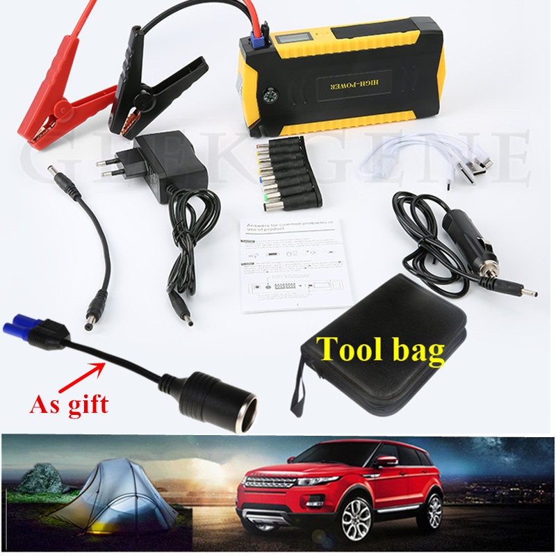 2017 Car Jump Starter Portable 600A Starting Device Power Bank 12V Car Charger For Battery Booster
