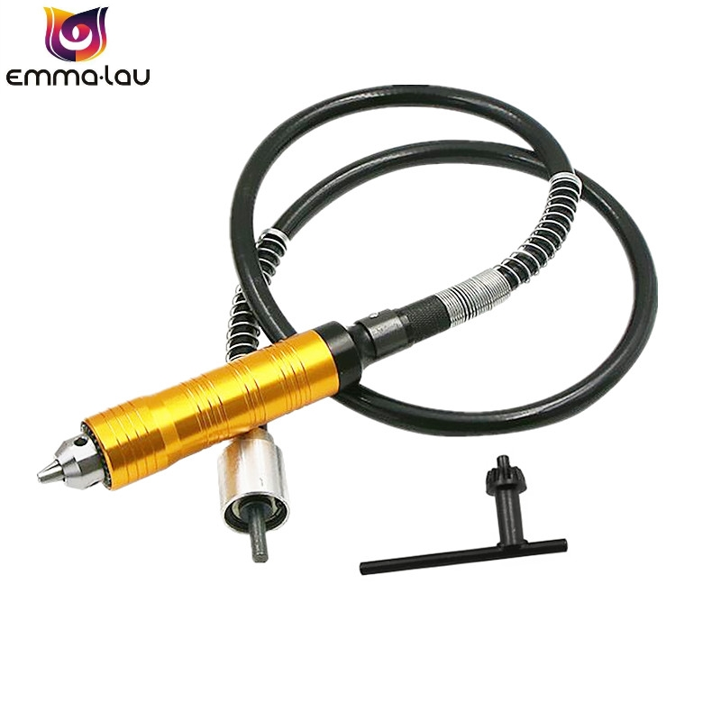 0.3-6mm Rotary Grinder Tool Drill Chuck Flexible Flex Shaft For Dremel Electric Hanging Mill Handle Accessories