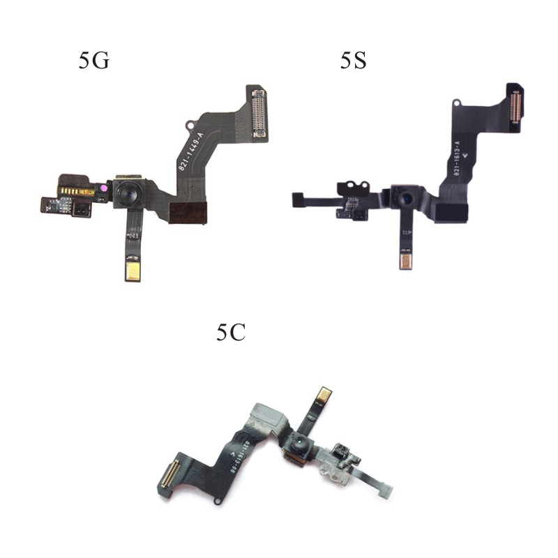 High Quality Front Camera Ring Holder For iPhone 5 5S 5C Front Facing Camera Lens Right Proximity Sensor Flex Cable image