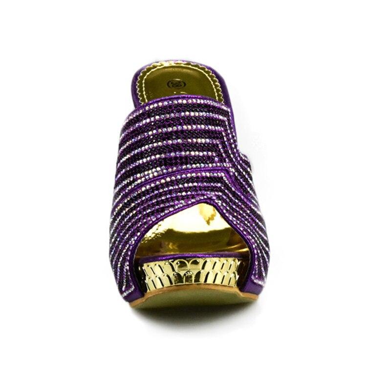 Bolsos Africanos A Del Negro Partido Las Y Alto Zapatos verde oro Último Con Emparejan púrpura plata Juego Bolsas Italianos Color Mujeres De fuchsia Verde Bolsa En Que Tacón azul wRnnvxq7B