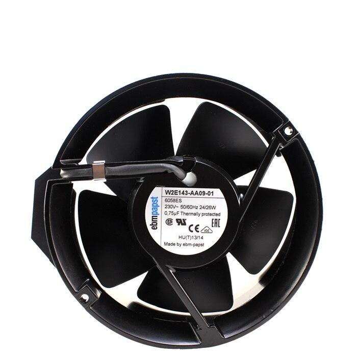 Nouveau W2E143-AA09-01 original 17251 230 V ventilateur haute température