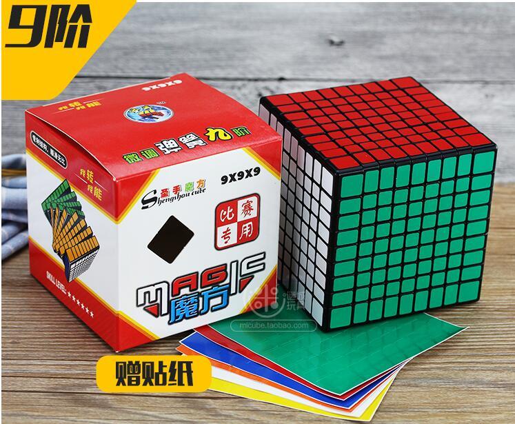 ShengShou 9x9x9 cube 9 Layers 92มิลลิเมตร9x9 Cube Puzzleสีดำ-ใน ลูกบาศก์มหัศจรรย์ จาก ของเล่นและงานอดิเรก บน   3