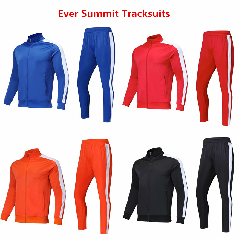 Tracksuits Soccer Jersey Football Shirt Ever Summit Jackets For DIY Customize Team Training Sets Windbreaker Sweater