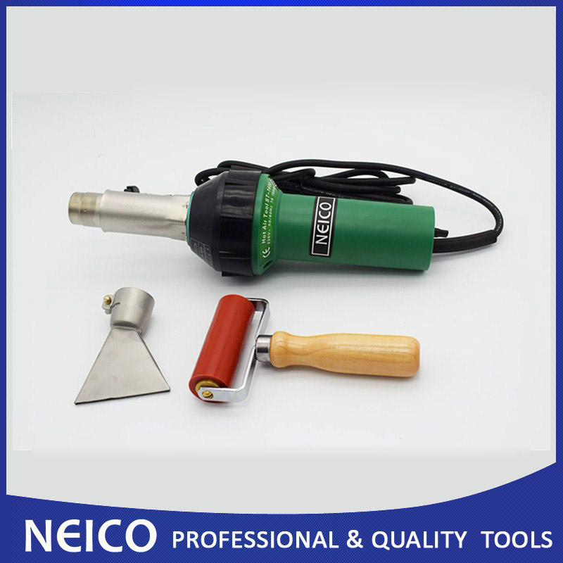 Free Shipping NEICO Plastic Welder For Roofing Bituminous Felt Welding Of Triac S Hot Air Tool