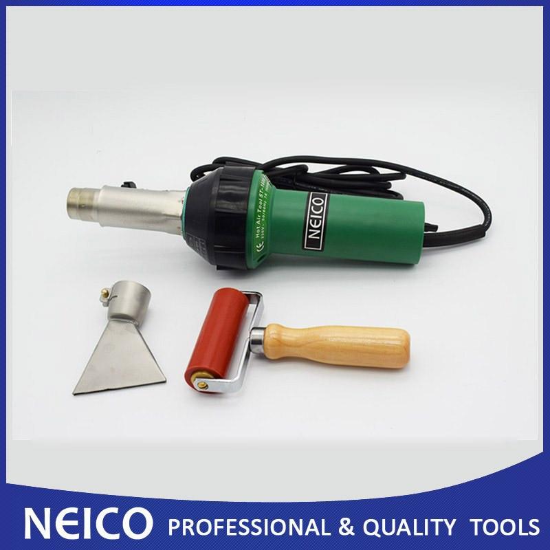 Free Shipping NEICO Plastic Welder For Roofing Bituminous Felt Welding Of Triac S Hot Air Tool