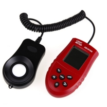 Новинка 200000 люкс автоматический HS1010A ЖК-цифровой светильник люксметр Люкс/FC измеритель освещенности ручной светильник люминометр
