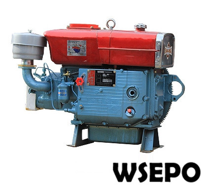 Factory Direct Supply! WSE-ZS1100 15HP Single Cylinder Water Cooled 4-stroke Diesel Engine Electric Start Optional
