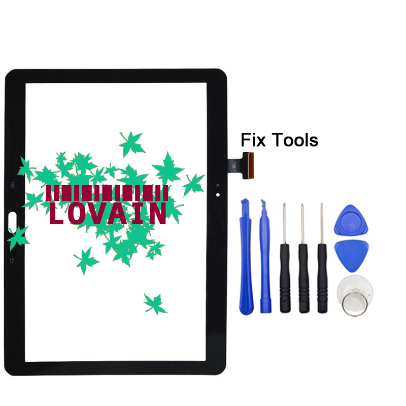 LOVAIN Black White 1PCS Original For Samsung Galaxy Tab Note 10.1 2014 Edition P600 P601 P605 Touch Screen Digitizer Panel+Tools samsung galaxy note 10 1 2014 edition 3g 16gb