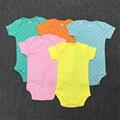 2017 New Baby Boys Spring Striped Clothing Set Newborn 3Pcs Set Sweatshirt + Romper + Pants Toddler Boy Fashion Clothing 15E