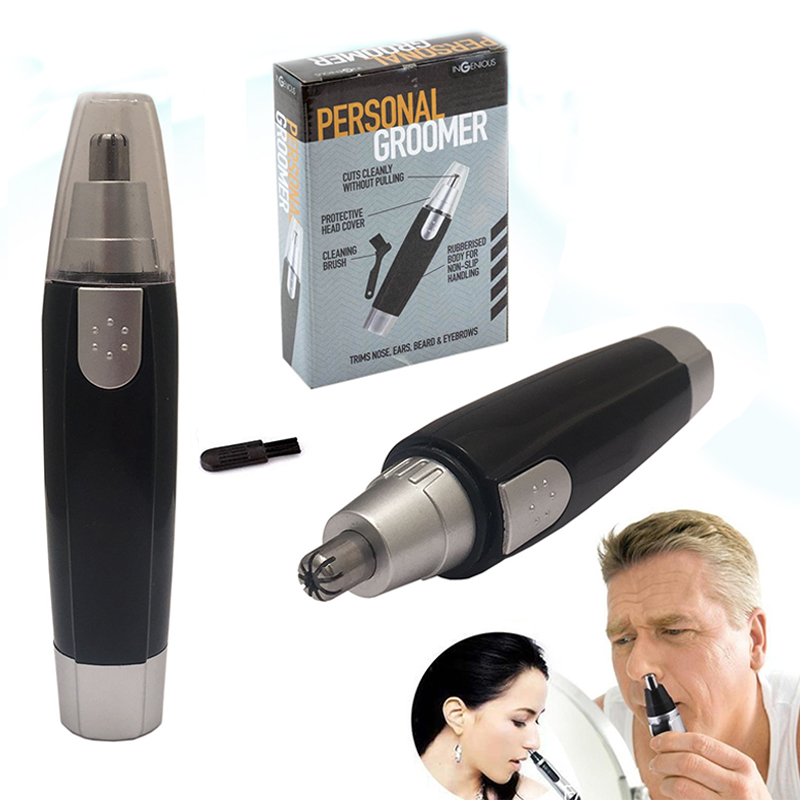 1 Pc Electric Ear Nose Neck Eyebrow Trimmer Implement Hair Removal Shaver Clipper Safe Cleaning Personal Care For Men And Women