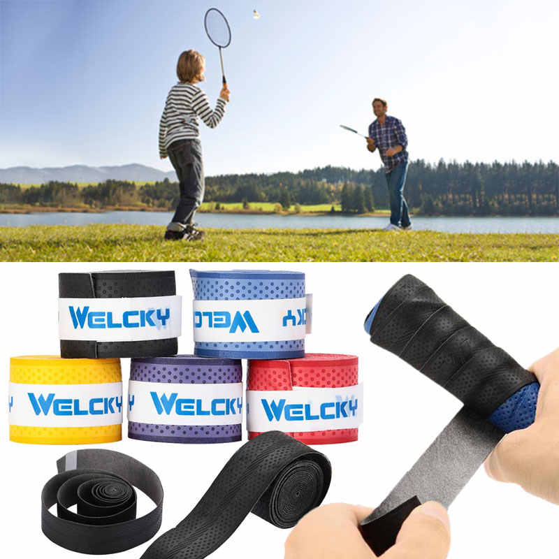 Tape Badminton Accessories Racket Sweat Band Anti-Slip Handle Tennis Badminton for Welcky Fishing Rod Dropshipping Anti-Sweat