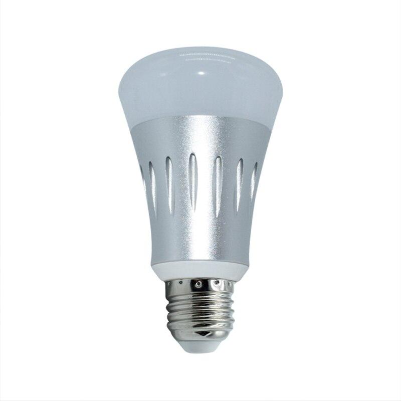 Auraglow 7w Remote Control Colour Changing Led Light Bulb: Dimmable Wifi Smart LED Bulb Light RGB E27 B22 7W Light
