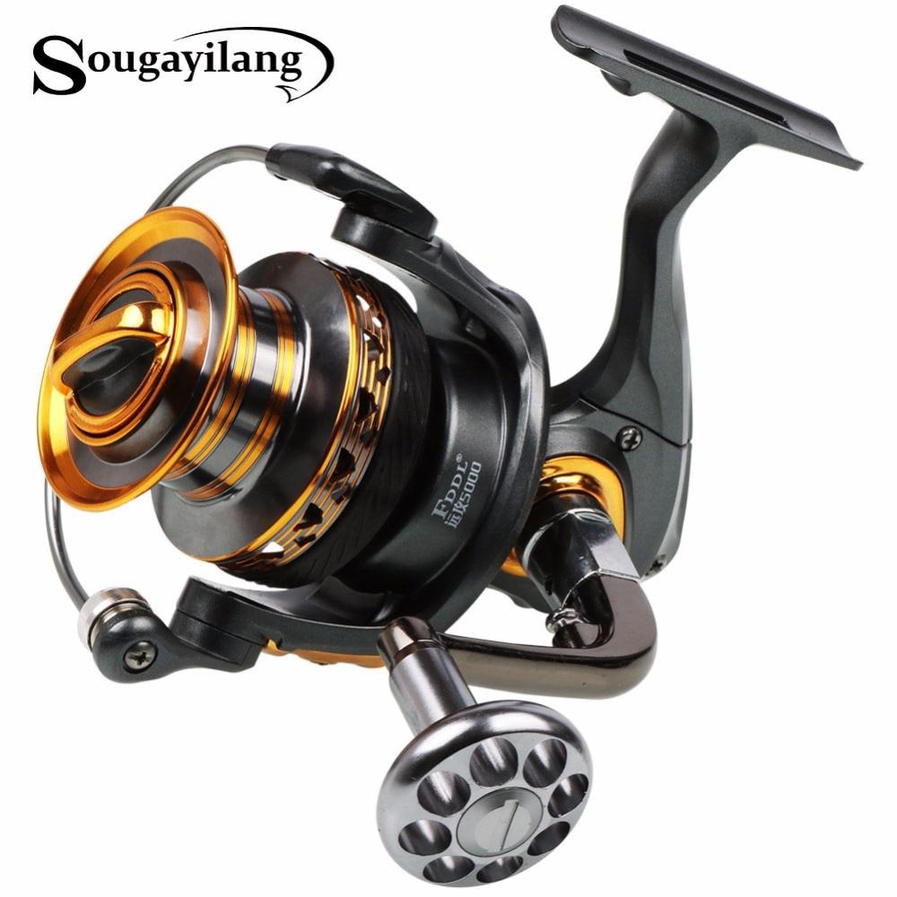 Sougayilang spinning fishing reel full metal body and for Sougayilang spinning fishing reels