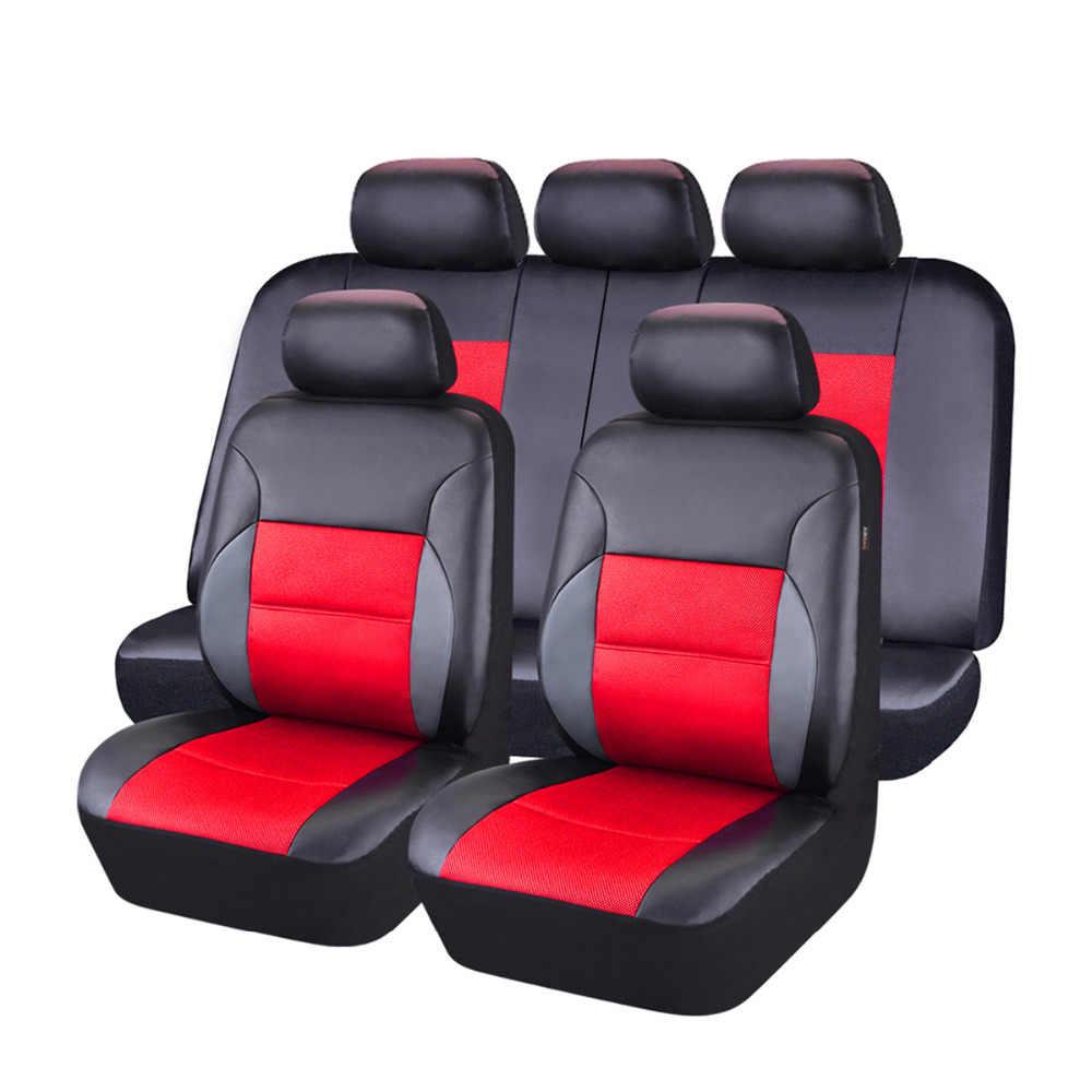 Car-pass универсальное автокресло кожаный чехол Полный Набор для Bmw F10 x5 e70 e53 x4 f11 x3 e83 x1 f48 e90 x6 e71 f34 e70 e30
