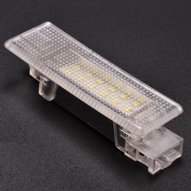 Для V-W G-олф MK-5 P-эссет J-Этта 1 шт DC 12 V светодиодный 3528 SMD багажник автомобиля багажный фонарь ошибок декоративные огни