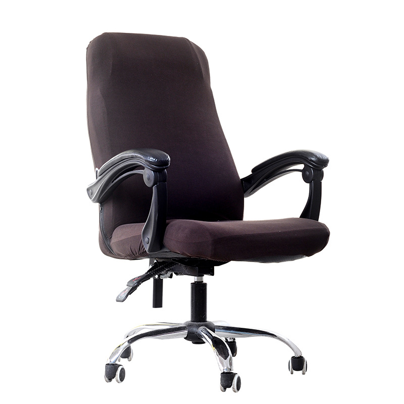 Qualité solide Spandex chaise couverture pour bureau cuisine partie salle à manger siège Case Silpcover ordinateur chaise couvre housse de chaise