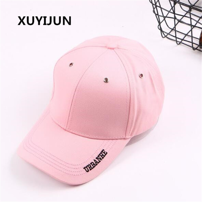 Xuyijun Baseball Cap Women Hats For Men Snapback Hat Cotton Bone Hip Hop Male Female Trucker Casquette Gorras Dad Black caps