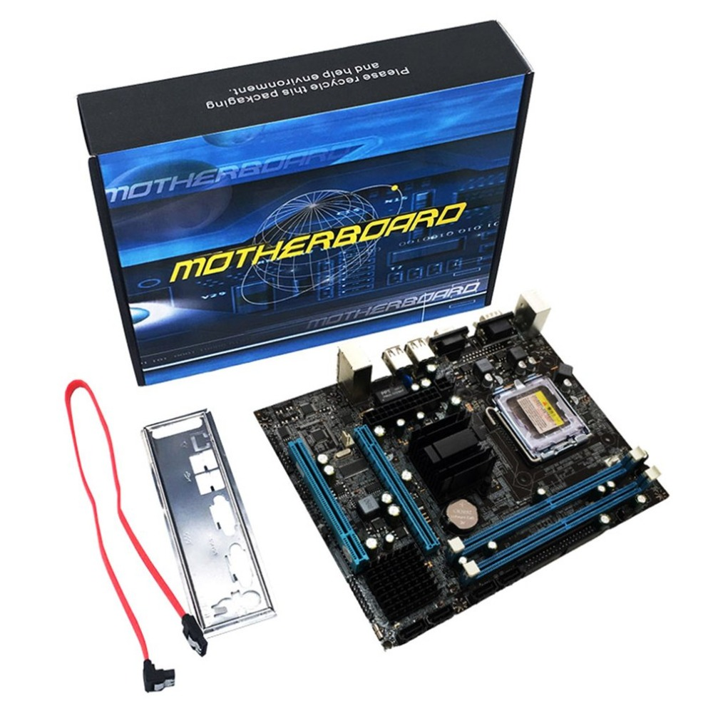 G31 Computer Motherboard Dual Core 771 Mainboard LGA 775 Motherboard 771/775 Dual Board DDR2 VGA High Compatibility