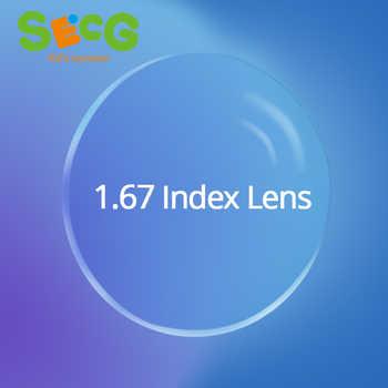 1.67 High-Index Clear Ultra-Thin Aspheric Radiation Protection Anti-UV Myopia Hyperopia Astigmatism Prescription Lenses 2Pcs - DISCOUNT ITEM  46 OFF Apparel Accessories