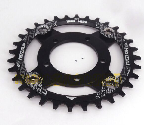 42T 44T 46T Chainwheel para Bafang 8fun Mid Drive Motor BBS01/BBS02 cadena anillo piñón rueda manivela Set bicicleta eléctrica Motor Kit