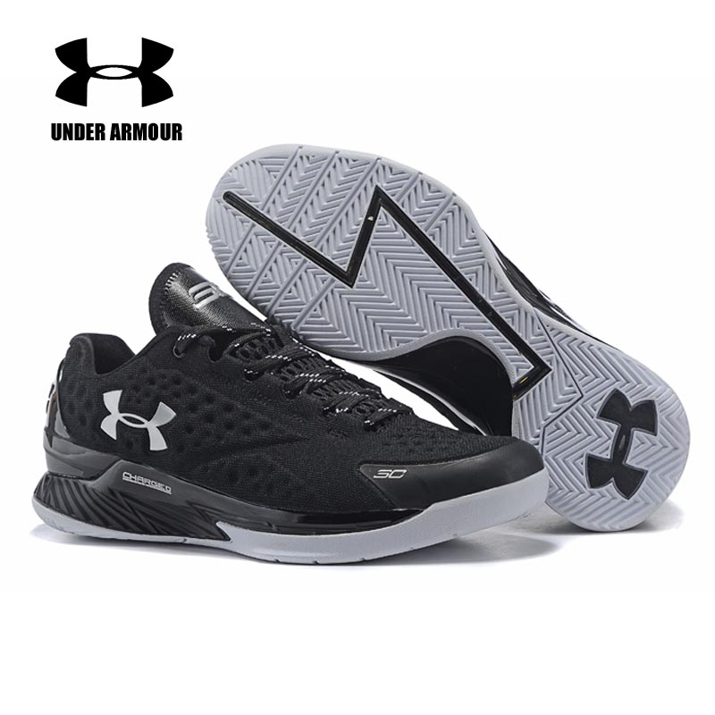 Under Armour Men Curry 1 Basketball shoes Low Top Stephen Curry Sport shoes Athletic Cushion Training sneakers zapatos de hombre