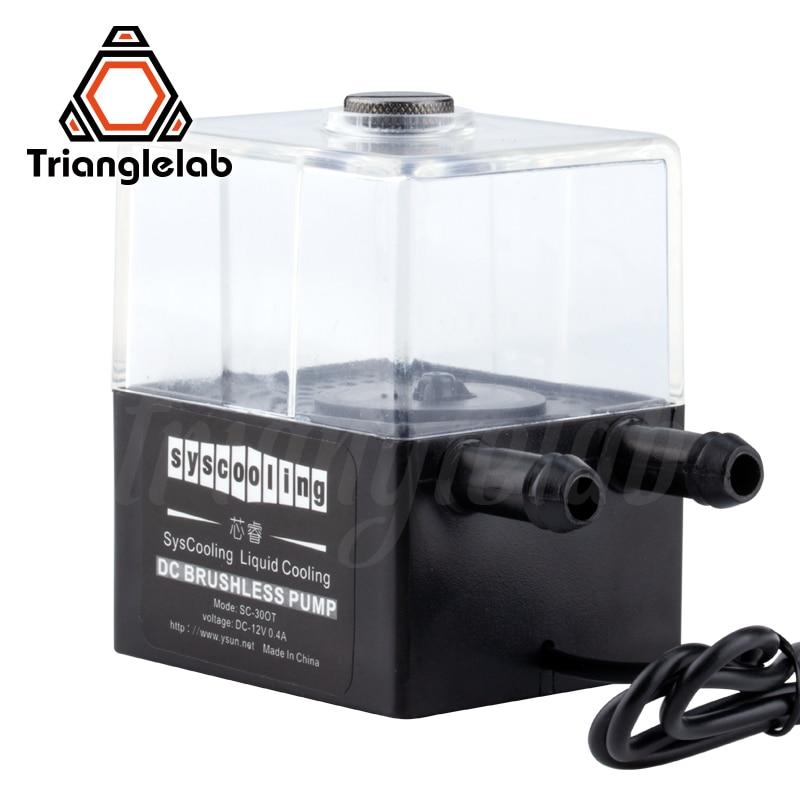 trianglelab Water Cooling  pump Kit Large Flow for DIY 3D printer Titan AQUA High temperature printing Titan Extruder AQUA