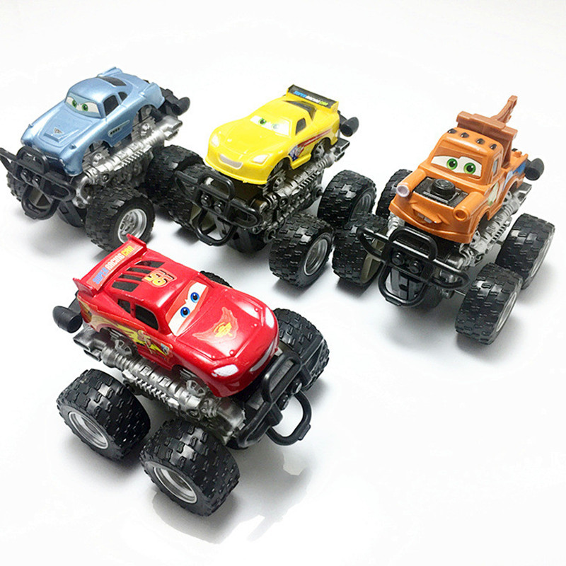 Promotion! Random 1PCS Car For Child Wheels Mini Blaze Monster Car Model For Boys Individuality Present Plastic Cute Toy