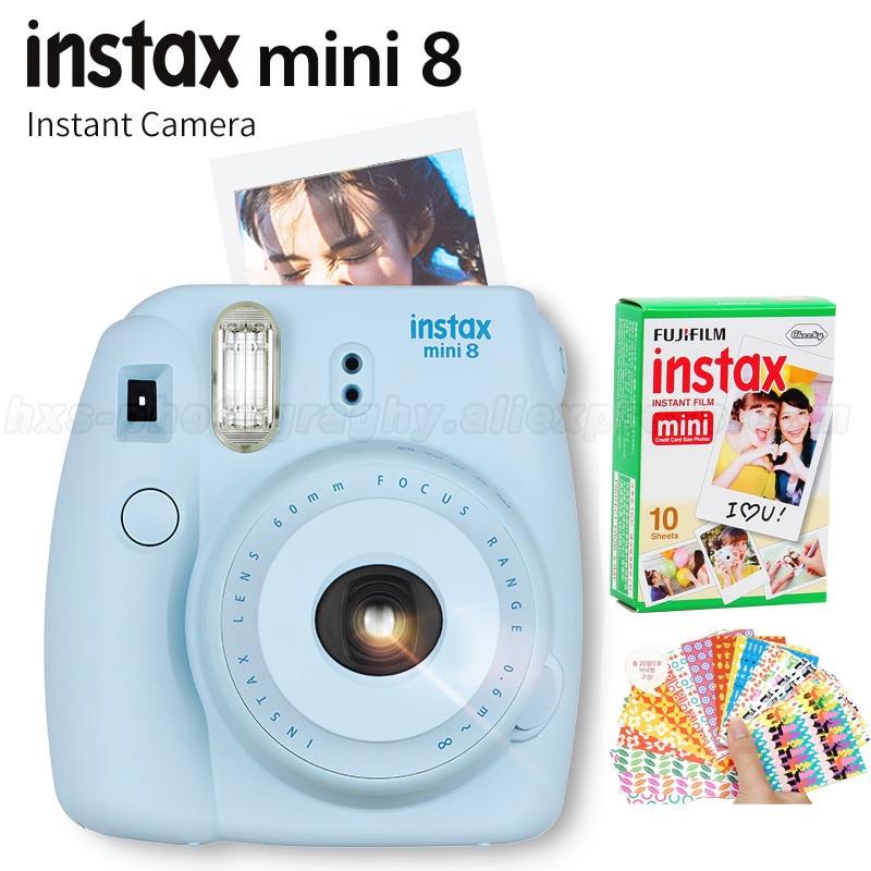 Genuine Fuji Fujifilm Instax Mini 8 Instant Camera Set with 10 pcs ...