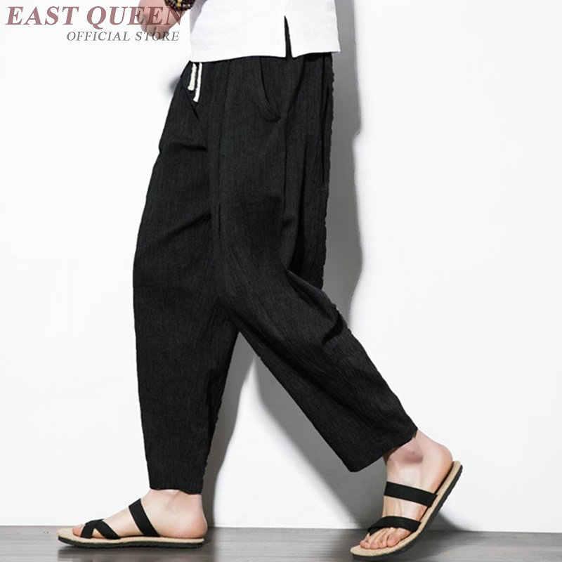 Roupas chinesas tradicionais para os homens roupas baratas china calças calças tamanho grande calças calças masculinas 2019 calças calça aa3807 y a