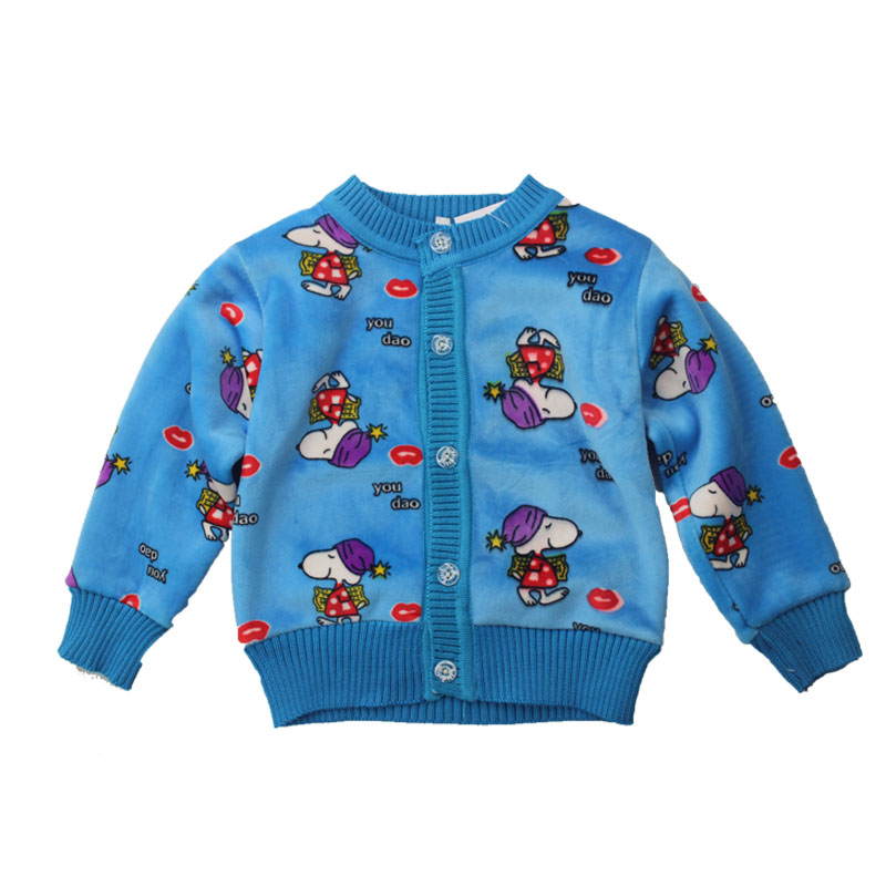 Girls/Boys Baby Sweater Knitted Cardigan Fleece Cotton Kids Coat Spring Autumn Winter Kids Sweaters Girls Children Clothing