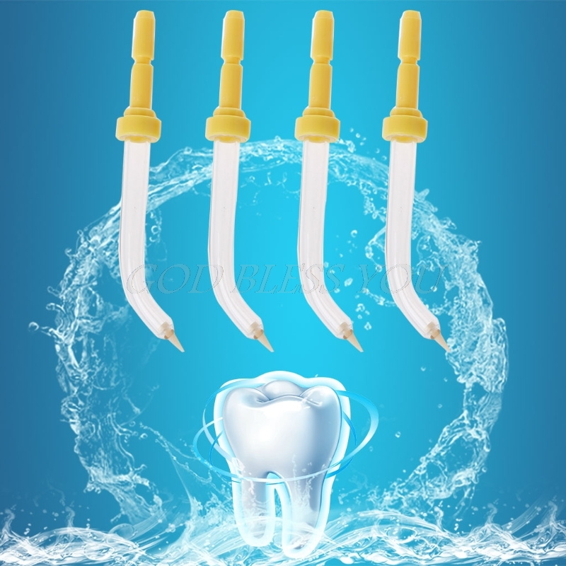 4Pcs Sprinkler Oral Hygiene Accessories Pocket Replacement Tips for Waterpik
